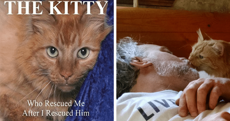 THE KITTY Who Rescued Me After I Rescued Him