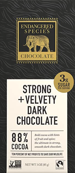 Endangered Species Chocolate bar